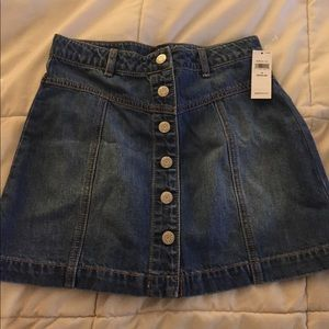 New Jean skirt Gap size 12 girls